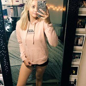 VANS pink hoodie